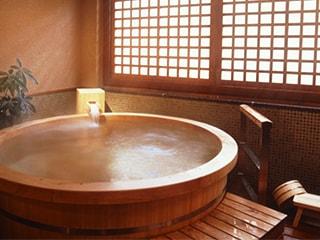 貸切風呂のある宿